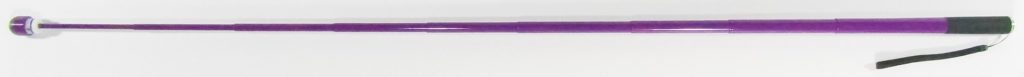 48 Inch Plum Purple Cane With A Color Matched Rugged Tip Shown Extended