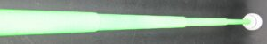 Force Reach Flour scent Green 44 Inch Blade Shown Extended At Acute Angle