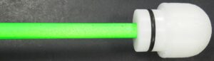 Force Reach Florescent Green 44 Inch Blade Show With Closeup Of Cane Tip